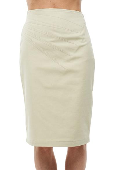 roberto cavalli pencil skirt white knee length